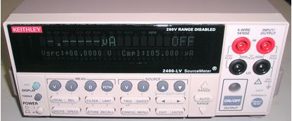 Picture of Keithley 2400-LV 20 Volt 1 Amp Sourcemeter