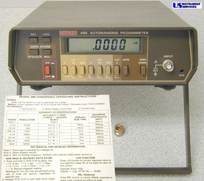 Picture of Keithley 485 ,Autoranging Picoammeter