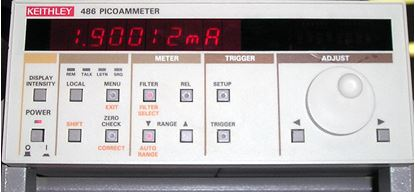 Picture of Keithley 486 Picoammeter