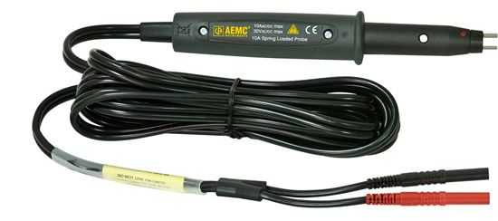 Picture of AEMC 10 Amp Straight Grip Kelvin Probes