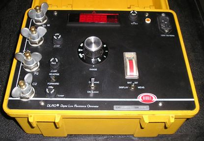 Picture of Biddle/AVO 247001-11 DLRO Low Resistance Ohmmeter