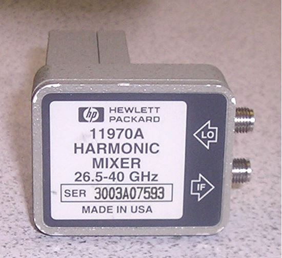 Picture of Agilent/HP 11970A 26.5 to 40 Ghz Harmonic Mixer