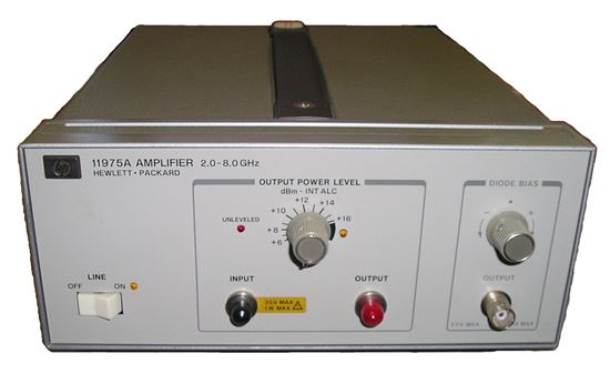 Picture of Agilent/HP 11975A 2-8 GHz Microwave Power Amplifier