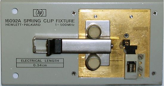 Picture of Agilent/HP 16092A Spring Clip Fixture
