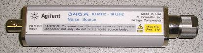 Picture of Agilent/HP 346A Noise Source