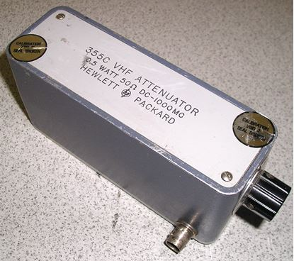 Picture of Agilent/HP 355C Manual 1 dB Step Attenuator