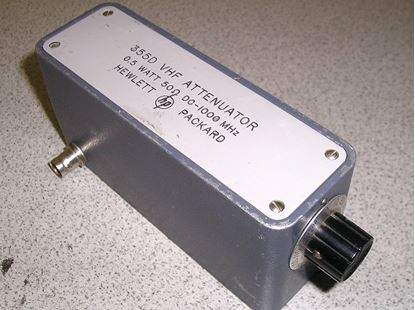 Picture of Agilent/HP 355D Manual 10 dB Step Attenuator