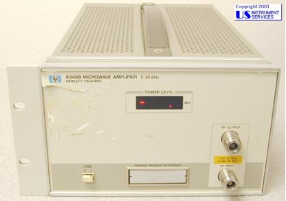 Picture of Agilent/HP 8349B 20GHz Microwave Amplifier