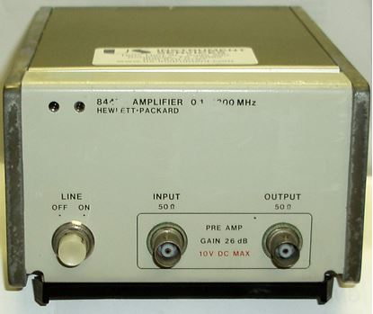 Picture of Agilent/HP 8447D RF Preamplifier