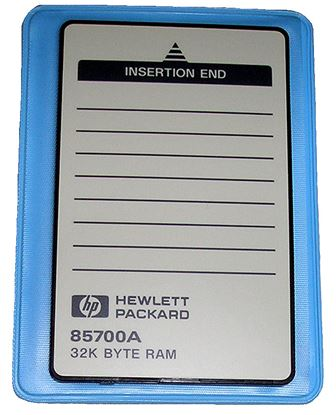 Picture of Agilent/HP 85700A 32 KB RAM Memory Card