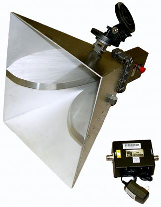 Picture of AH Systems SAS-575 1-4 GHz Horn Antenna with Preamplifier