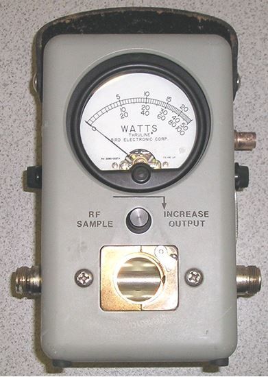 Picture of Bird 4431 Variable RF Tap Portable Wattmeter