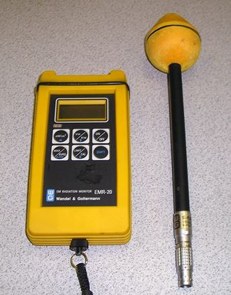 Picture of Acterna/WG EMR-20 Portable EM Radiation Meter