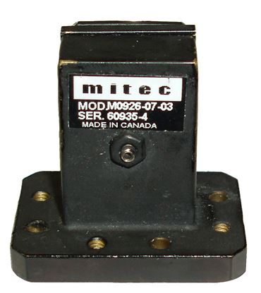Picture of Mitec Telecom M0926-07-03 Waveguide to Coaxial Transition Adapter
