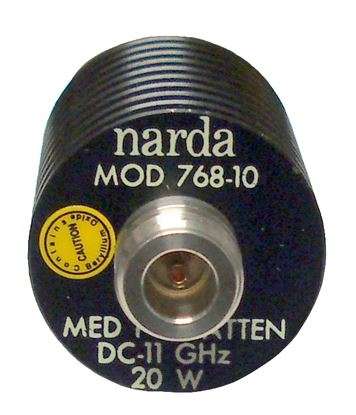 Picture of Narda Microwave 768-10 11 GHz 20 Watt Fixed Attenuator