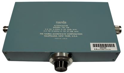 Picture of Narda 791FM 2-12.4 GHz 0-35 dB Variable Attenuator