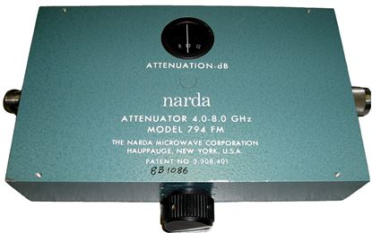 Picture of Narda 794FM 4-8 GHz 0-40 dB Variable Attenuator