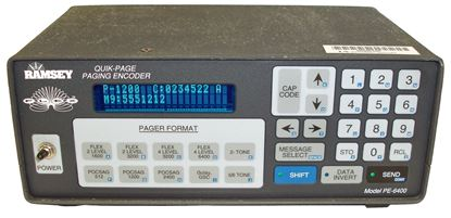 Picture of Ramsey PE6400 Quick-Page Paging Encoder