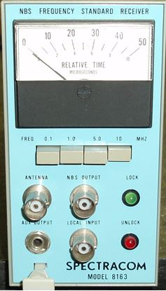 Picture of Spectracom 8163 WWV Frequency Standard