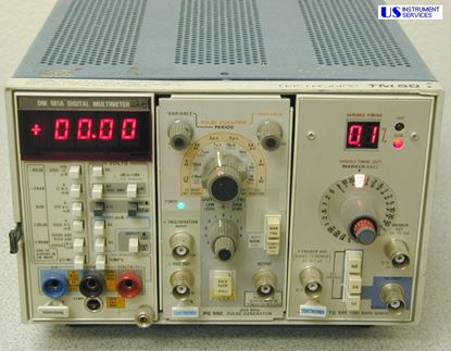 Picture of Tektronix TM503 , with :, DM501A