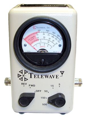 Picture of Telewave Model 44A 20-1000 MHz Portable Wattmeter
