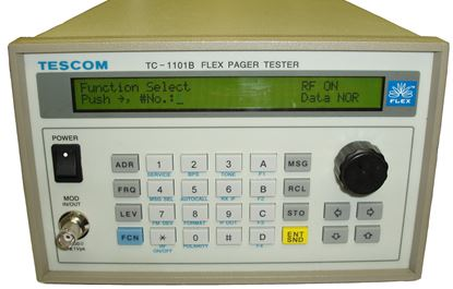 Picture of Tescom TC-1101B Pager Tester