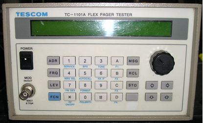 Picture of Tescom TC-1101A Pager Tester