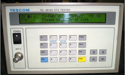 Picture of Tescom TC-3010A Telepoint CT 2 Tester