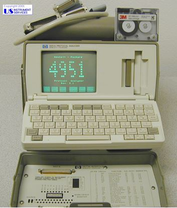 Picture of Agilent/HP 4951A ,Protocol Analyzer , w/ 18173A RS-232C/V.24 Interface