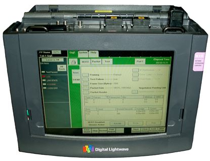 Picture of Digital Lightwave NIC GigE Gigabit Ethernet Test Set