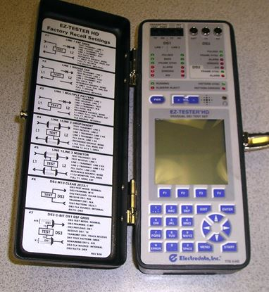 Picture of Electrodata EZ-Tester HD DS1-DS3 Test Set
