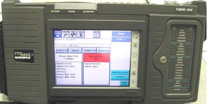 Picture of JDSU Acterna 2310 DS1Tester with 2109 Copper Module