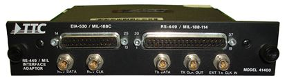 Picture of JDSU/Acterna/TTC 41400 RS-449/MIL Data Interface for Acterna 6000
