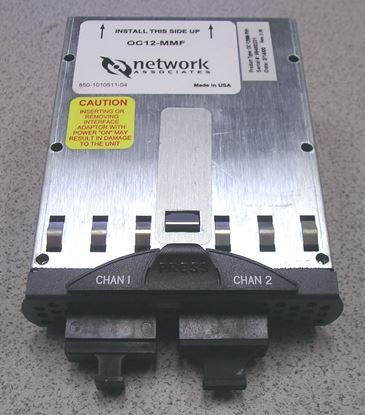 Picture of Network Associates ATMBook OC-12 MMF Module