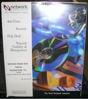 Picture of Network Associates Distributed Sniffer Pro for Dos