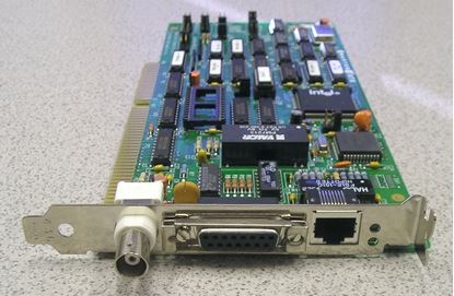 Picture of Network Associates MS-6X-ENX Interface Card