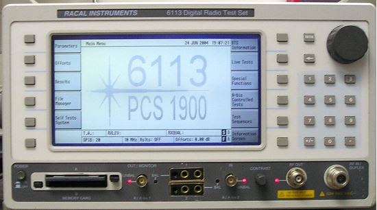 US-Instrument Services  Racal 6113 Digital Radio Test Set