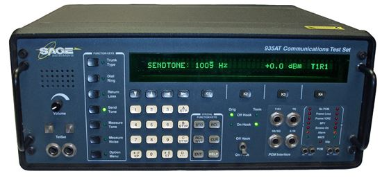 Picture of Sage Instruments 935AT Communications Test Set