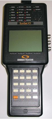 Picture of Sunset Portable E1 Tester+ options