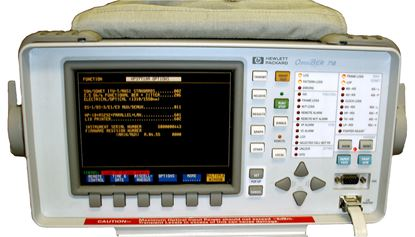 Picture of Agilent/HP 37717C with options