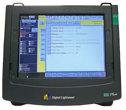Picture of Digital Lightwave NIC Plus OC-192 Test Set