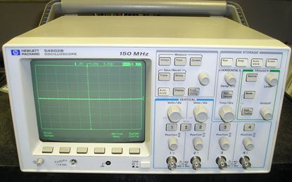 Picture of Agilent/HP 54602B 4 Channel 150 MHz Oscilloscope