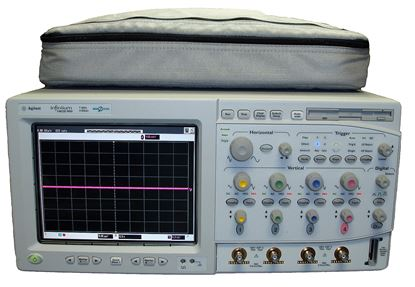 Picture of Agilent/HP 54832D Infiniium 1 GHz 4 Channel Oscilloscope