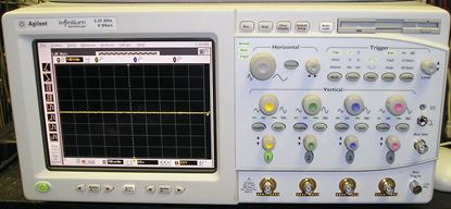 Picture of Agilent/HP 54846A Infiniium 4 Channel 2.25 GHz Oscilloscope