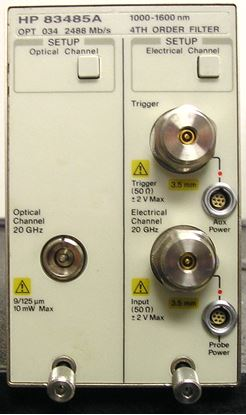 Picture of Agilent/HP 83485A Optical/Electrical Module