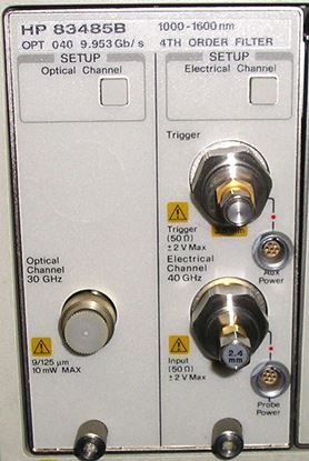 Picture of Agilent/HP 83485B Optical/Electrical plug-in