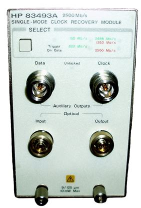 Picture of Agilent/HP 83493A Single Mode Clock Recovery Module