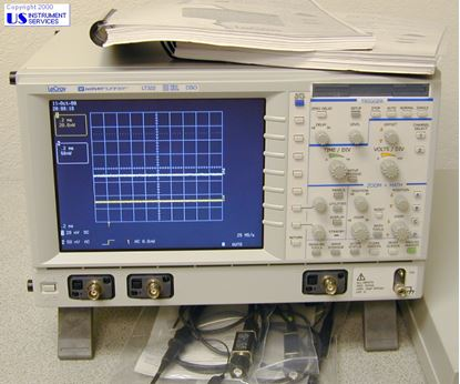 Picture of Lecroy LT322 Waverunner,500MHz 200ms/s DSO, Digital Storage Oscilloscope
