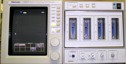 Picture of Tektronix 11801B Digital Sampling Oscilloscope