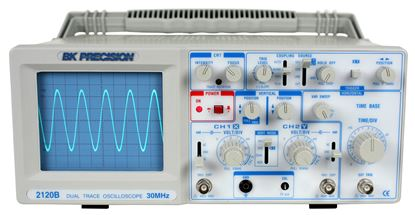 Picture of B&K Precision Model 2120B 30 MHz 2 Channel Oscilloscope
